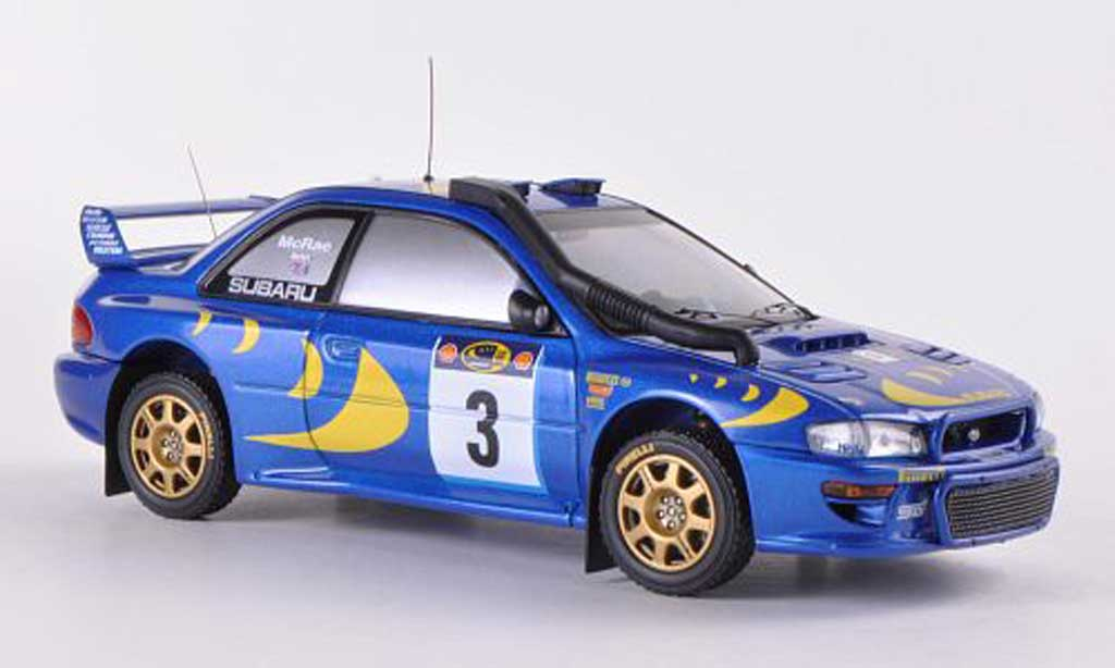 Subaru Impreza WRC 1/43 HPI 97 No.3 C.McRae / N.Grist Safari Rally 1997 miniature