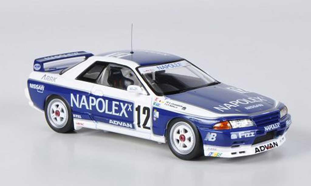 Nissan Skyline R32 1/43 HPI GT-R No.12 Napolex S.Johansson / P.Barilla JTC 1991 modellautos
