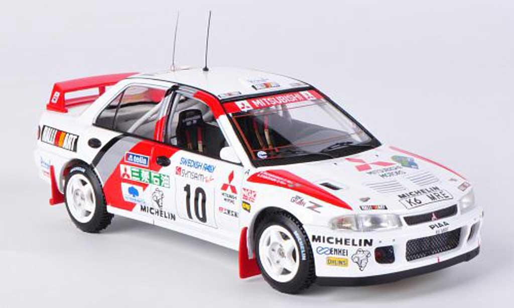 Mitsubishi Lancer Evolution II 1/43 HPI No.10 K.Eriksson / S.Parmander Rally Schweden 1995 miniature