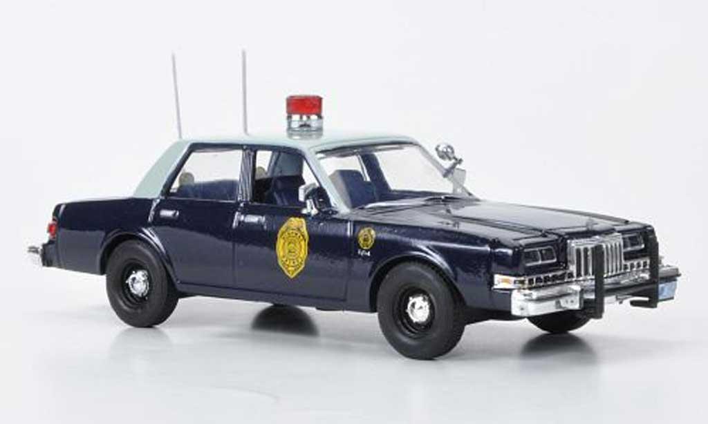 Dodge Diplomat 1/43 First Response Kansas Highway Patrol 1985 miniature