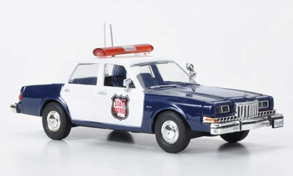 Dodge Diplomat 1/43 First Response Wisconsin State Patrol 1985 diecast