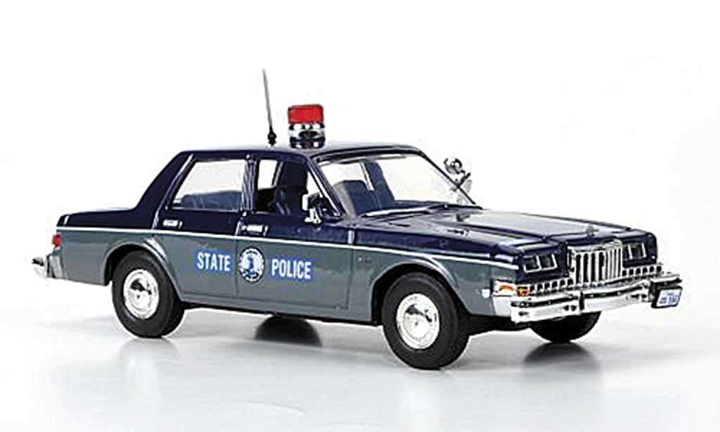 Dodge Diplomat 1/43 First Response Virginia State Police 1985 diecast