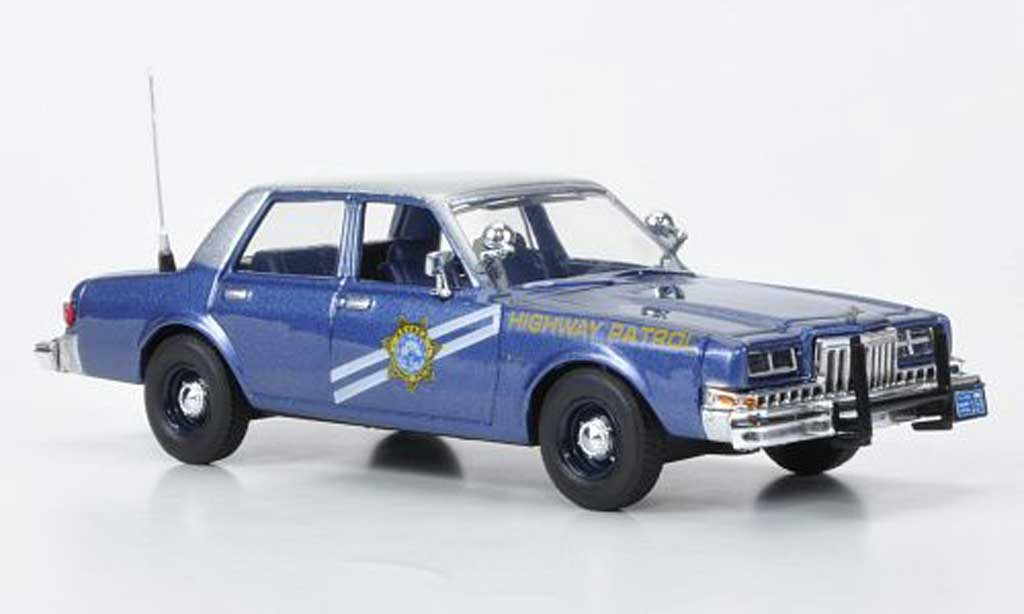 Dodge Diplomat 1/43 First Response Nevada Highway Patrol 1985 diecast