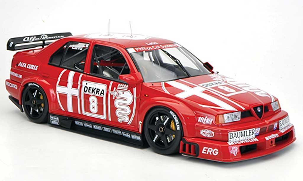 Alfa Romeo 155 1/18 HPI V6 TI No.8 Alfa Corse N.Larini DTM 1993 diecast