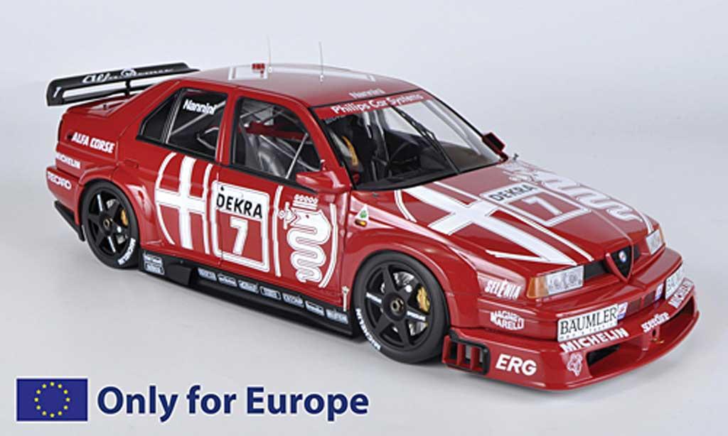 Alfa Romeo 155 1/18 HPI V6 TI No.7 Alfa Corse A.Nannini DTM 1993 diecast