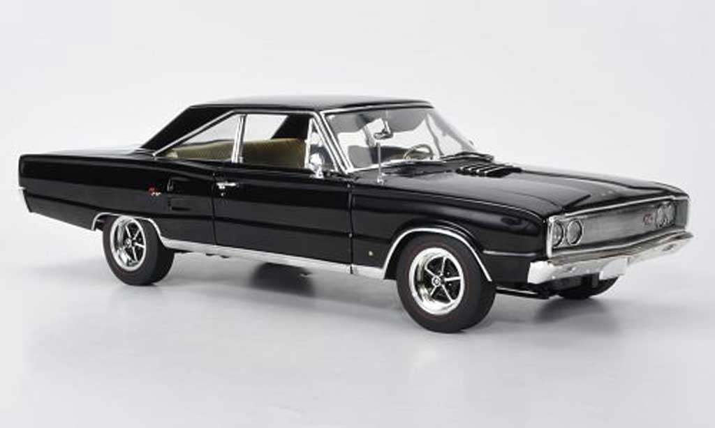 Dodge Coronet 1967 1/18 Highway 61 R/T black diecast