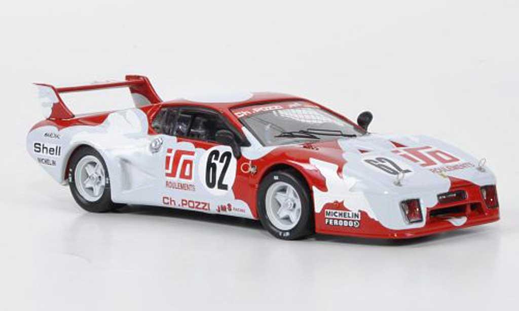 Ferrari 512 BB LM 1/43 Best No.62 JMS Racing Andruet / Dini 24h Le Mans 1979 coche miniatura