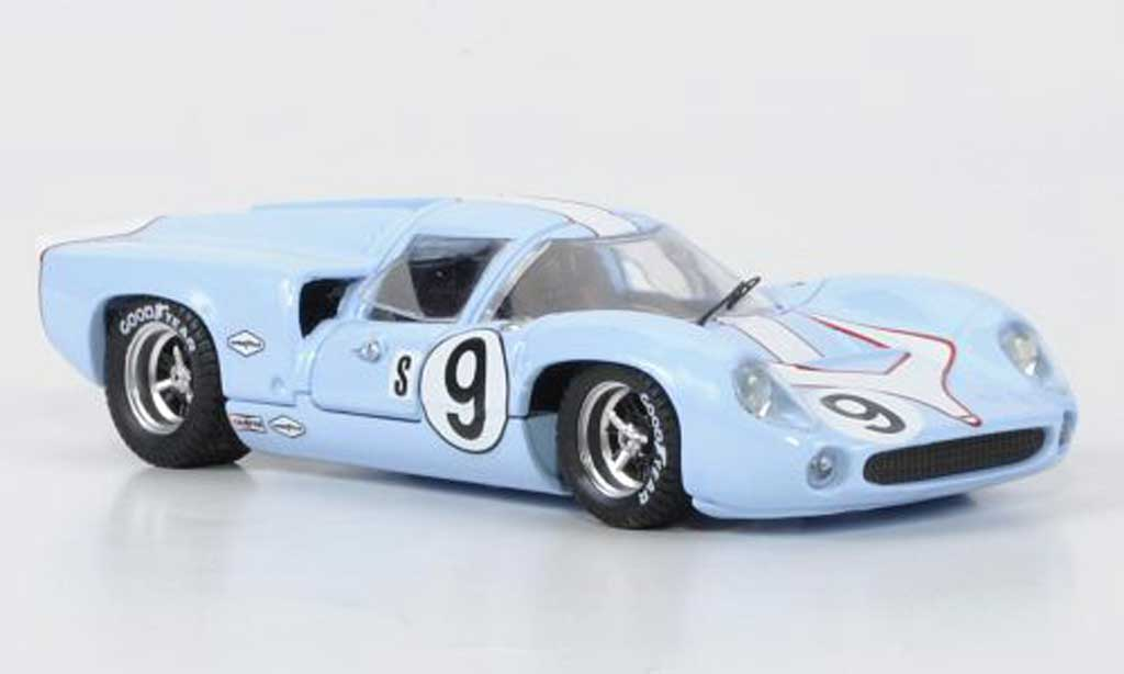 Lola T70 1968 1/43 Best Coupe No.9 Patrik / Jordan Sebring coche miniatura