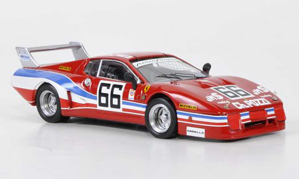 Ferrari 512 BB LM 1/43 Best No.66 JMS Racing Andruet / Dini 24h Daytona 1979 diecast model cars