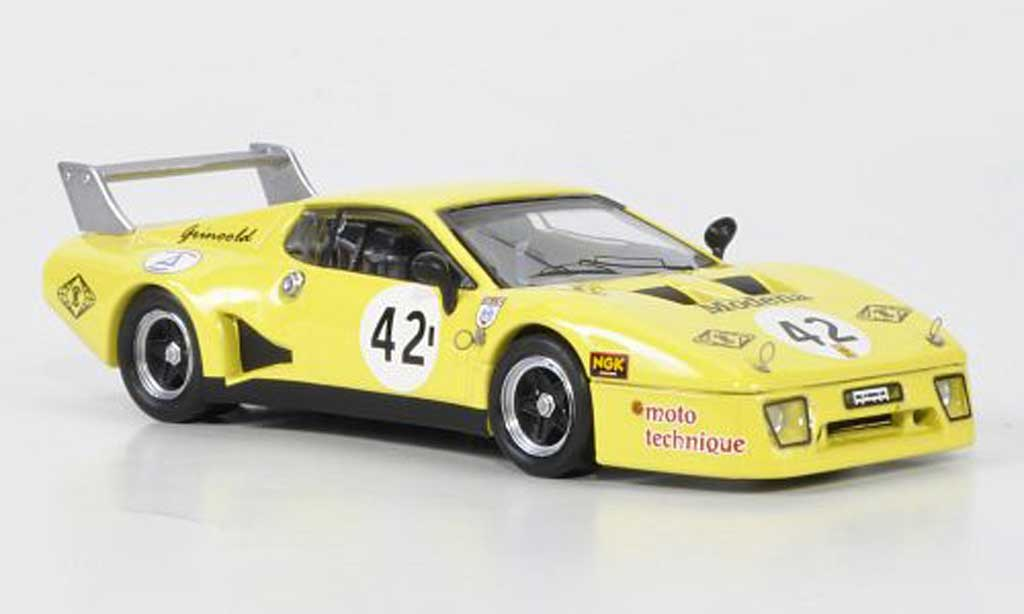 Ferrari 512 BB LM 1/43 Best No.42 Bond / Bell / Grinoold Silverstone 1981 diecast model cars