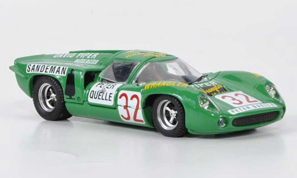 Lola T70 1969 1/43 Best Coupe No.1 Piper / Quester Zeltweg miniature
