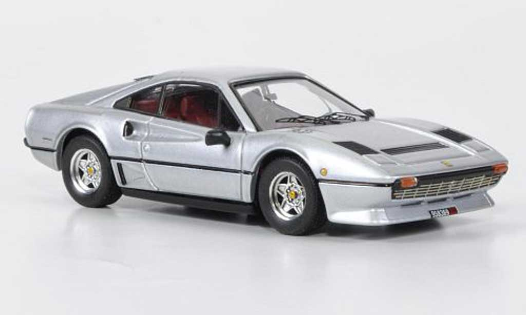 Ferrari 208 GTB 1/43 Best Turbo grise grise 1982 miniature
