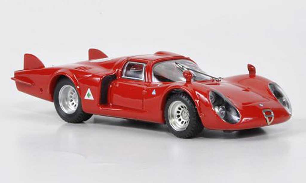 Alfa Romeo 33.2 1968 1/43 Best Coda Lunga Testfahrzeug miniatura