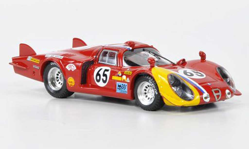 Alfa Romeo 33.2 1968 1/43 Best LM No.65 Troesch / Wendt 24h Le Mans coche miniatura