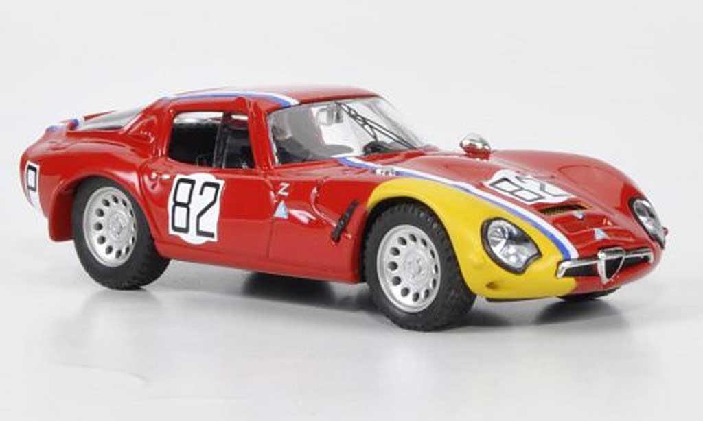 Alfa Romeo TZ2 1/43 Best No.82 Trosch / Pilette Nurburgring 1967 miniature