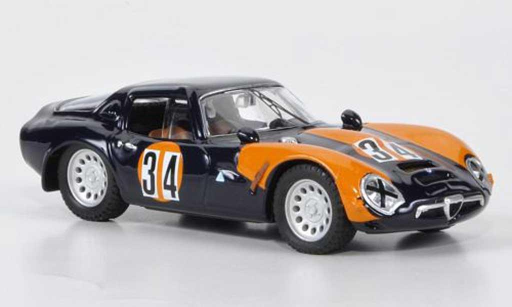 Alfa Romeo TZ2 1/43 Best No.34 O.Volontiero Misano 1973 coche miniatura