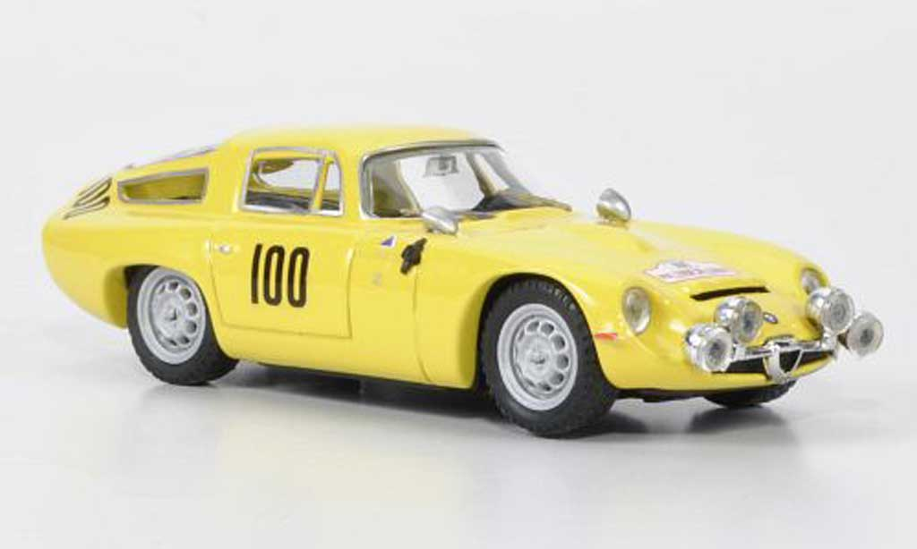 Alfa Romeo TZ1 1/43 Best No.100 Masoero / Maurin Tour de Corse 1963 miniature