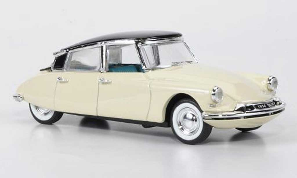 Citroen DS 19 1/43 Rio beige/noire Autosalon Paris 1955 miniature