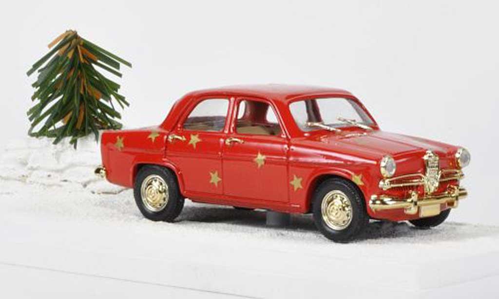 Alfa Romeo Giulietta 1/43 Rio Merry Christmas miniature