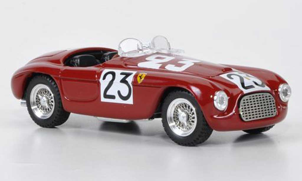 Ferrari 166 1949 1/43 Art Model Spider No.23 Lucas / Ferret 24h Le Mans miniature