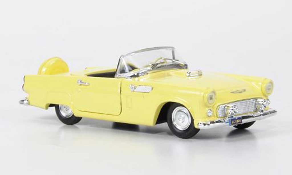 Ford Thunderbird 1/43 Rio jaune miniature