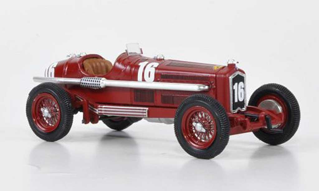 Alfa Romeo P3 1/43 Rio T.B No.16 L.Chiron Montecarlo 1934 miniatura