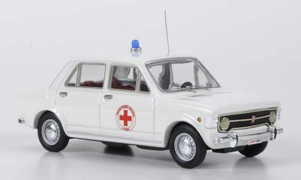 Fiat 128 1/43 Rio Croce Rossa Italiana - Como rougees Kreuz (I) miniature