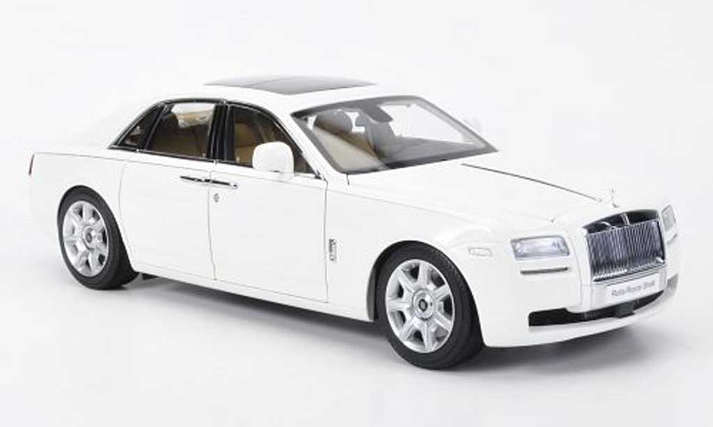 Rolls Royce Ghost SWB 1/18 Kyosho (H22) LHD blanche miniature