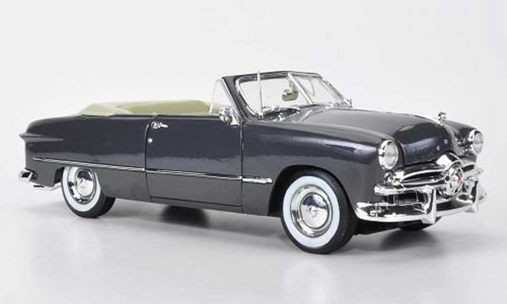 Ford 1949 1/18 Maisto Convertible offen grise miniature