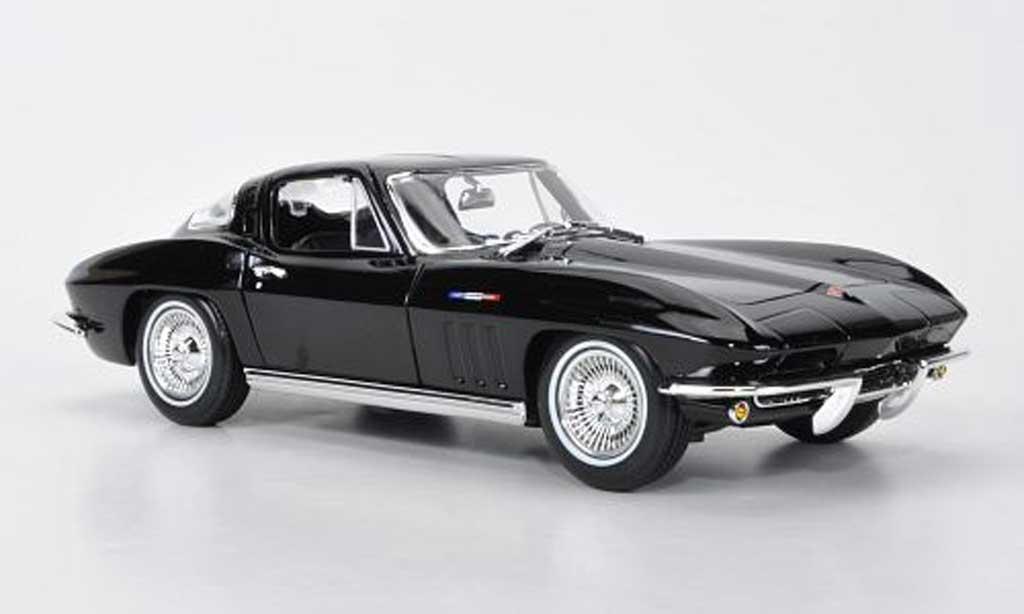 Chevrolet Corvette C2 1/18 Maisto Stingray Coupe black 1965 diecast model cars