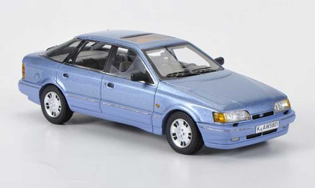 Ford Scorpio 1/43 Neo MKI  bleu 1985 miniature