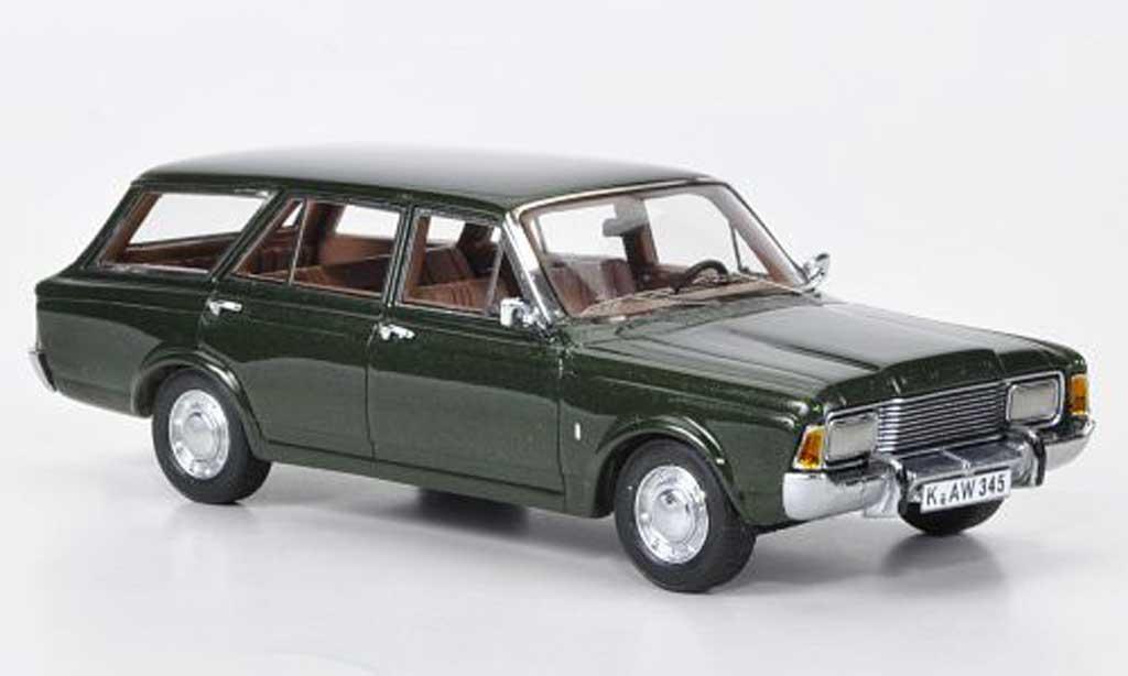 Ford Taunus 1/43 Neo (P7b) Turnier verte miniature