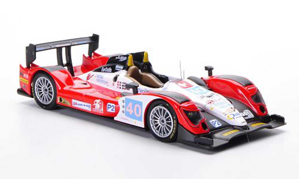 Bmw LMP2 2011 1/43 IXO Oreca 03-Judd No.40 M.Frey - R.Meichtry - M.Rostan 24h Le Mans