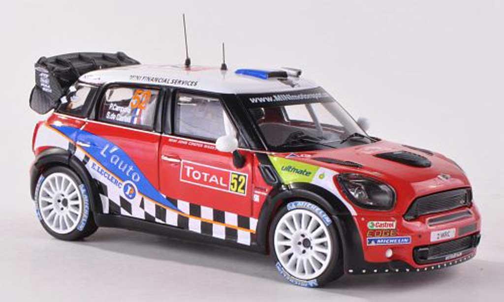 Mini Cooper WRC 1/43 IXO John Cooper Works No.52 Rally Monte Carlo  2012 P.Campana/S.de Castelli miniature