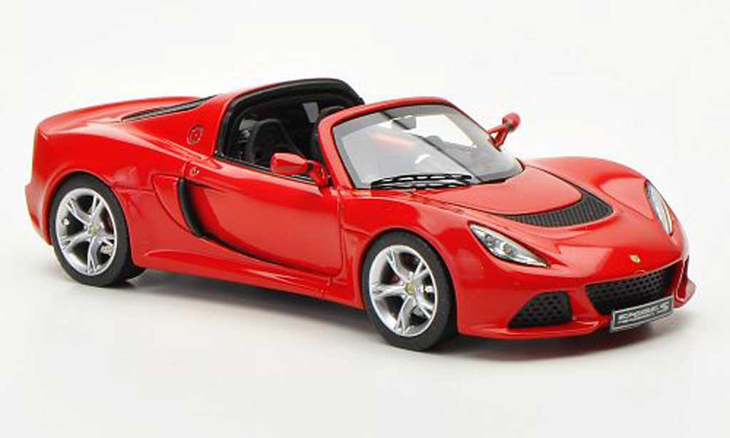 Lotus Exige 1/43 Look Smart S Roadster rouge LHD Autosalon Genf 2012 miniature