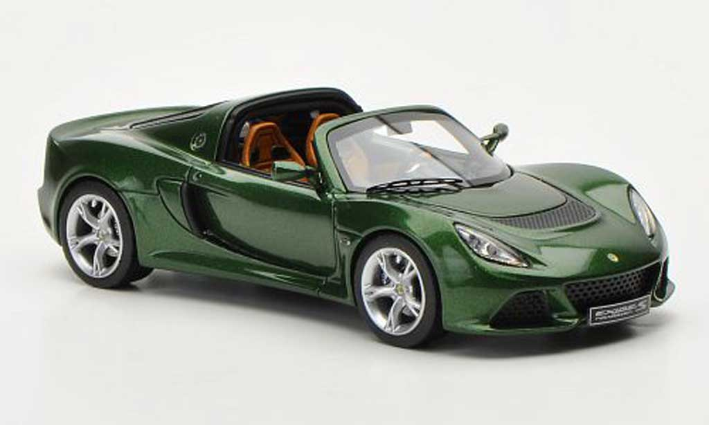 Lotus Exige 1/43 Look Smart S Roadster grun Autosalon Genf 2012 miniature