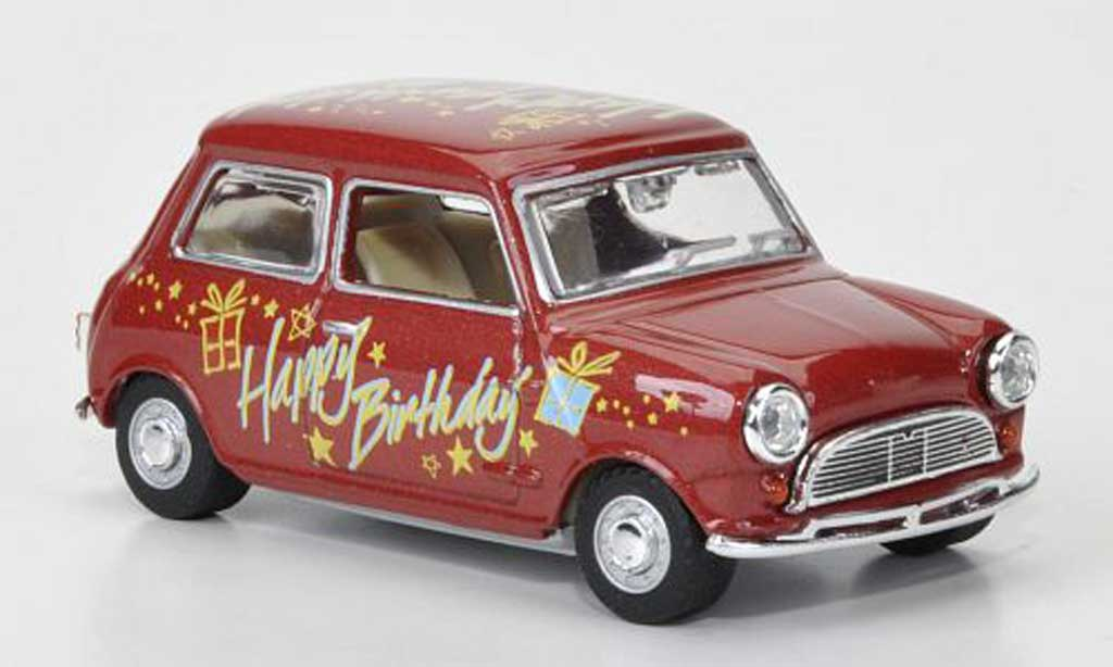 Austin Mini Cooper 1/43 Oxford Happy Birthday 1966 modellautos