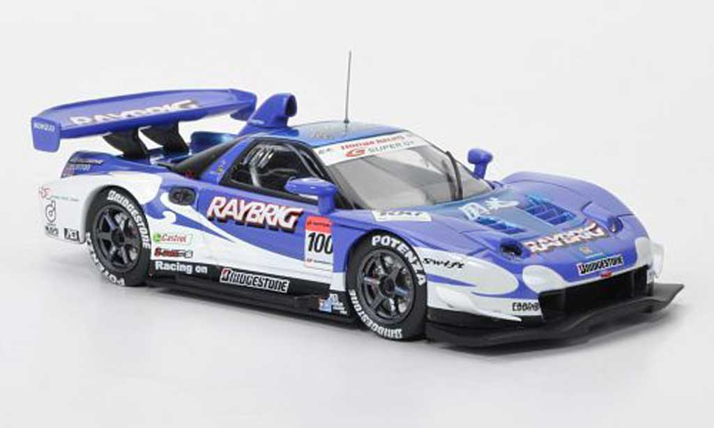 Honda NSX Super GT 1/43 Ebbro No.100 Raybrig (Late Version) 2005 miniature