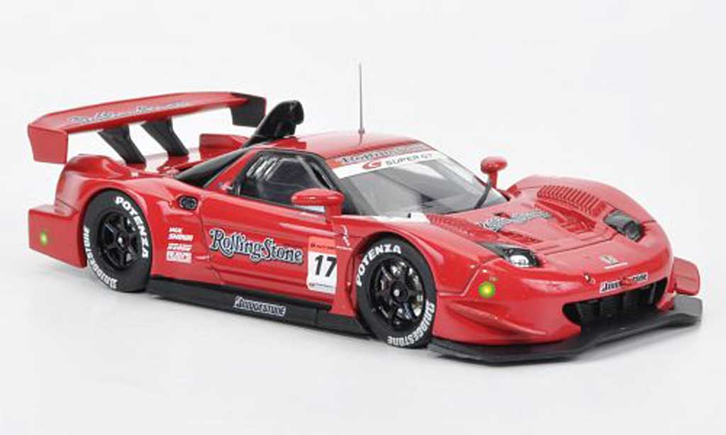 Honda NSX Super GT 1/43 Ebbro SGT 500 No.17 Rollingstone 2007 diecast model cars