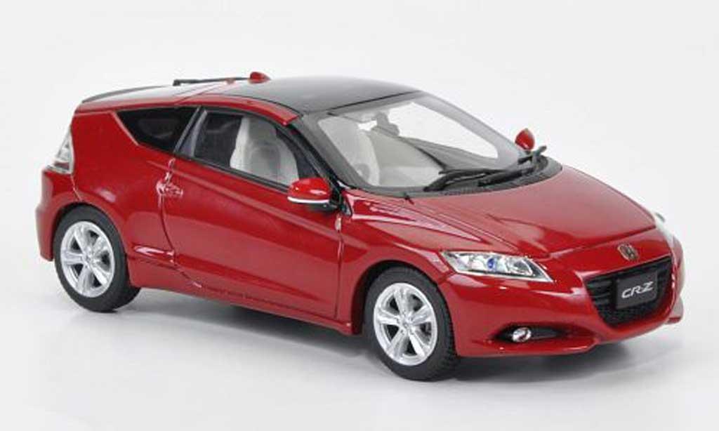 Honda CR-Z 1/43 Ebbro met.rouge 2010 miniature