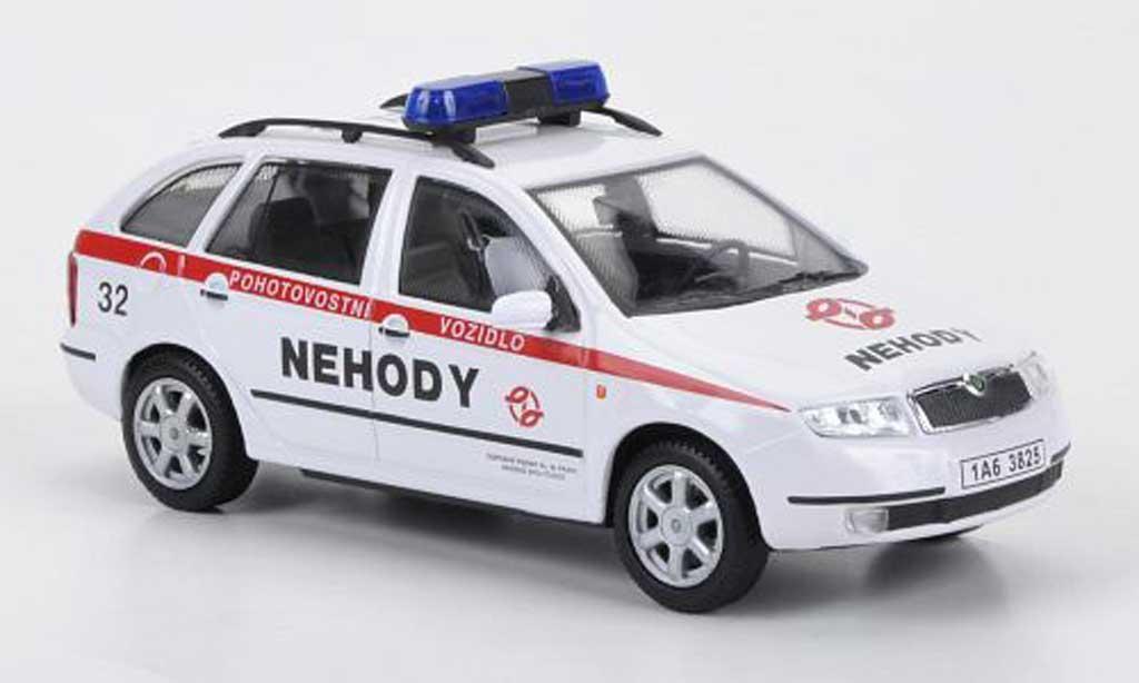 Skoda Fabia 1/43 Abrex Pohotovostni Vozidlo - Nehody 2004 miniature