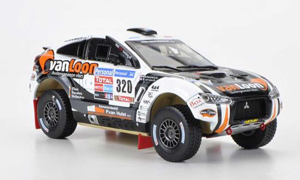 Mitsubishi Lancer 1/43 Vitesse Racing No.320 van Loon/Scholtalbers Rally Dakar miniature