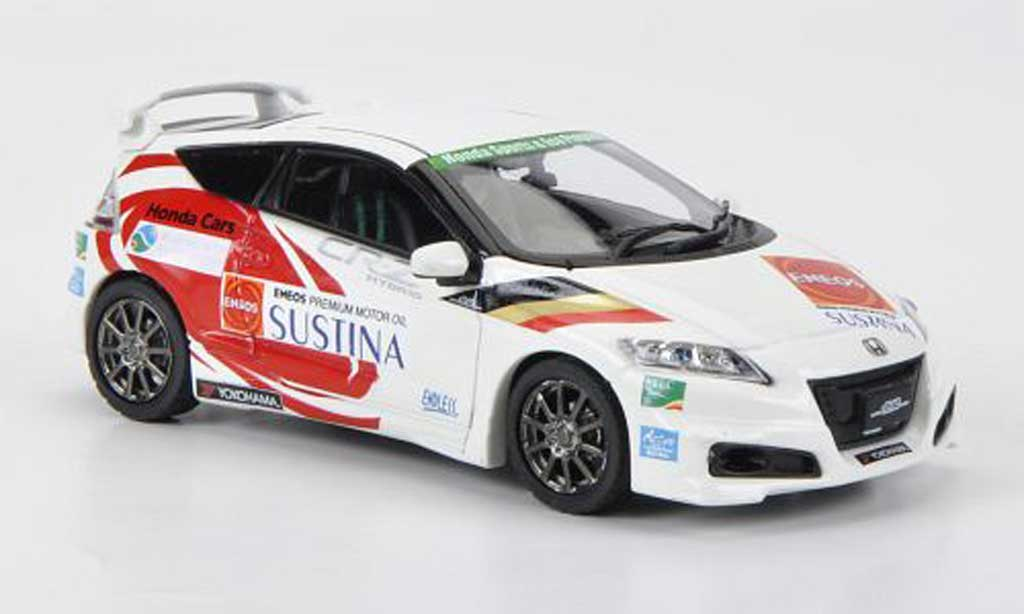 Honda CR-Z 1/43 Ebbro Racing-1 Legend Cup 2011 miniature