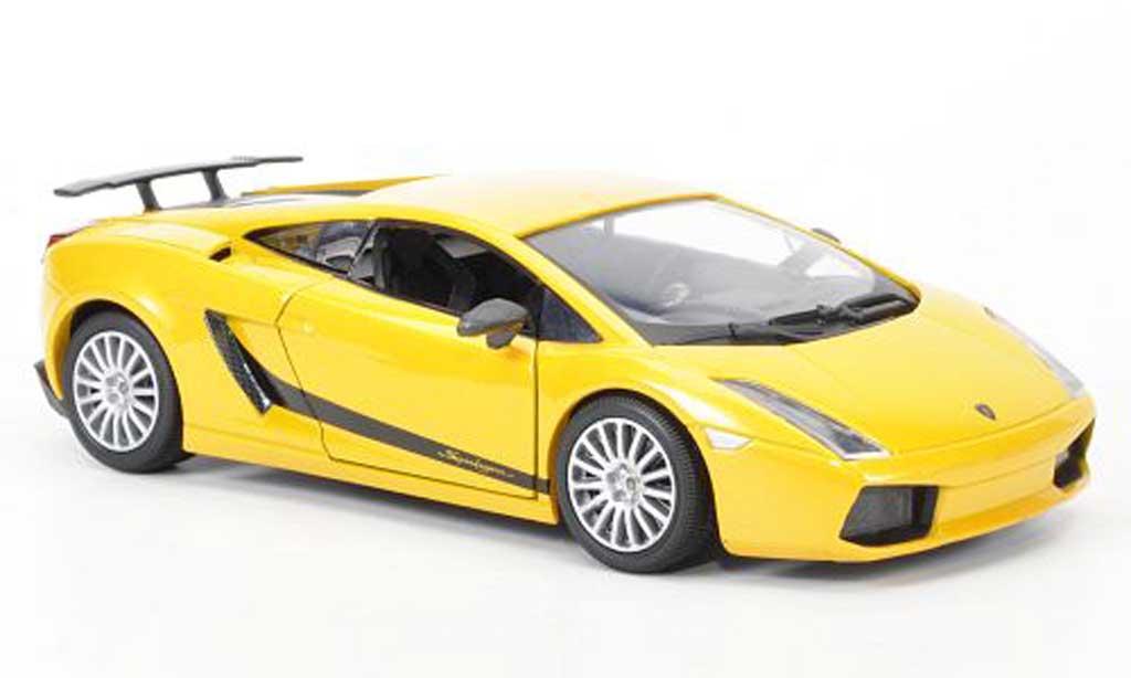Lamborghini Gallardo Superleggera 1/18 Mondo Motors jaune 2009 miniature