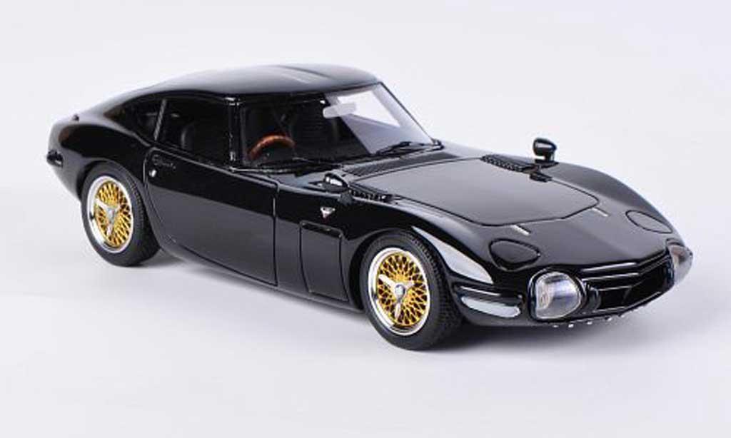 Toyota 2000 GT 1/43 HPI black RHD diecast