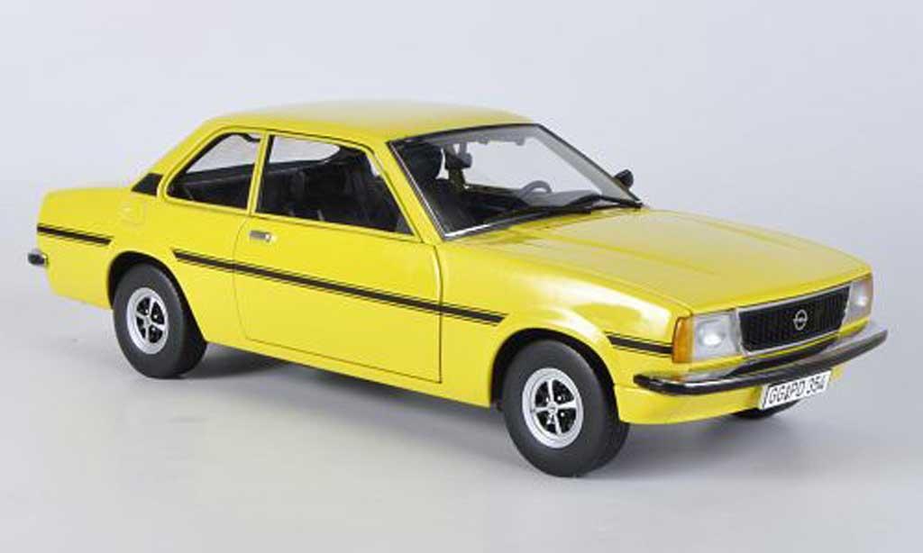 Opel Ascona B 1/18 Sun Star B SR jaune 1975 miniature