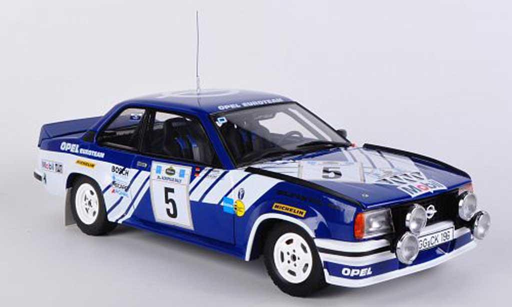 Opel Ascona 400 1/18 Sun Star No.5 J.Kleint / G.Wanger Rally Acropolis 1981 diecast