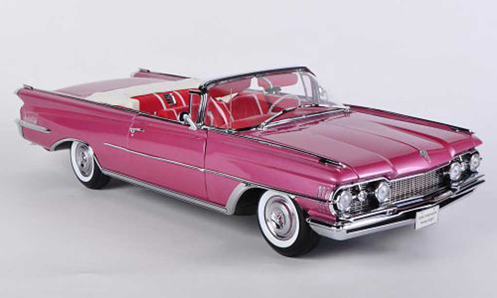 Oldsmobile 98 1/18 Sun Star Convertible rose 1959 miniature
