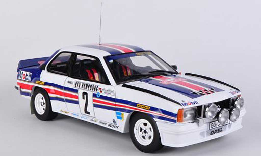 Opel Ascona 400 1/18 Sun Star No.2 rougehmans W.Rohrl / C.Geistdorfer Rally Monte Carlo miniature