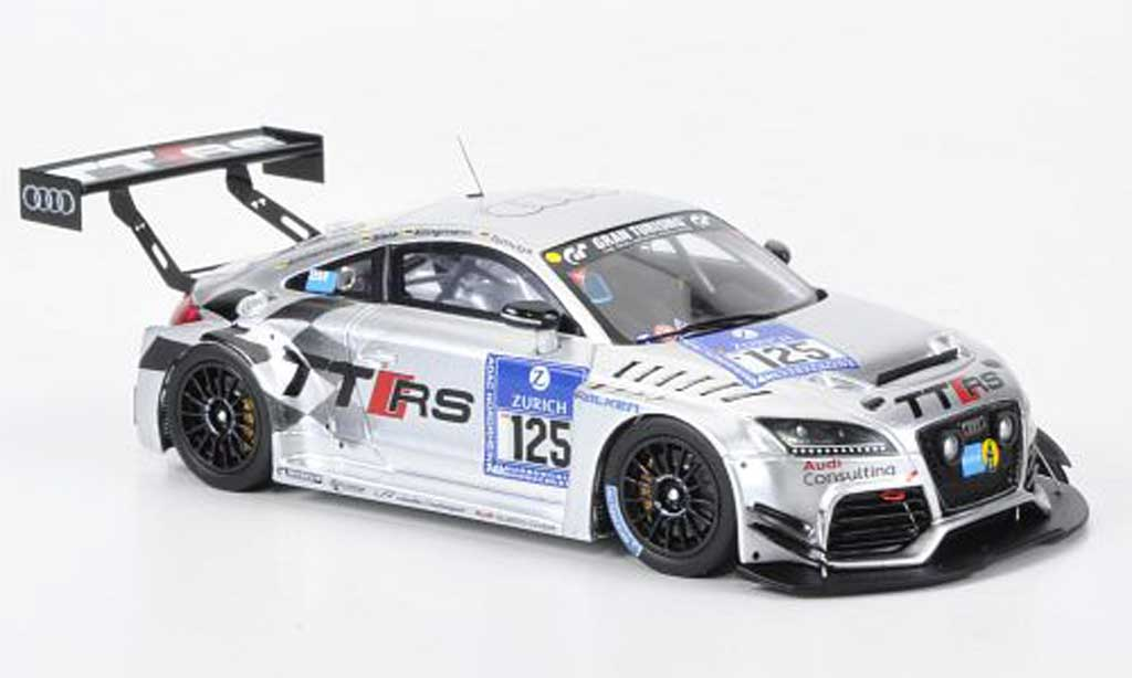 Audi TT 1/43 Spark No.125 24h Nurburgring 2011 miniature